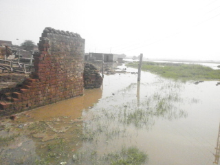 Flooding at Dooh Ki Mallian.