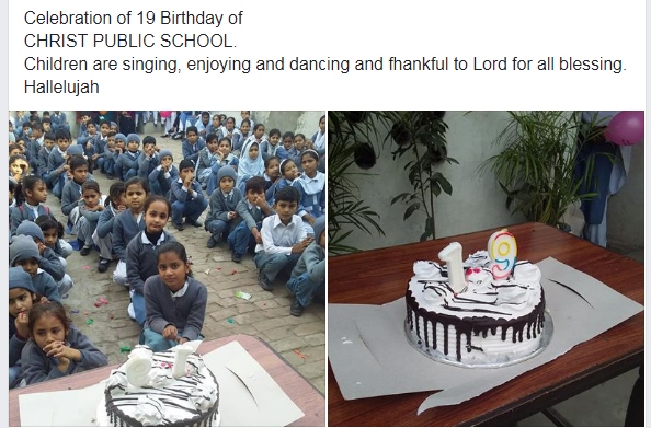 celebrating school's 19th birthday
