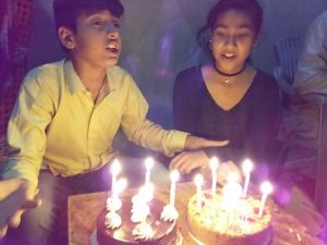 twins celebrate 12th birthday